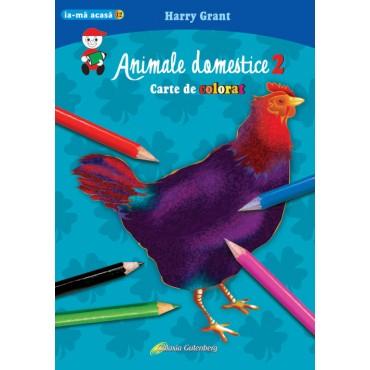 Animale domestice 2 - carte de colorat