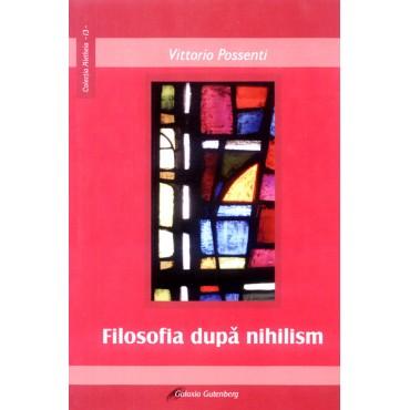 Filosofia după nihilism