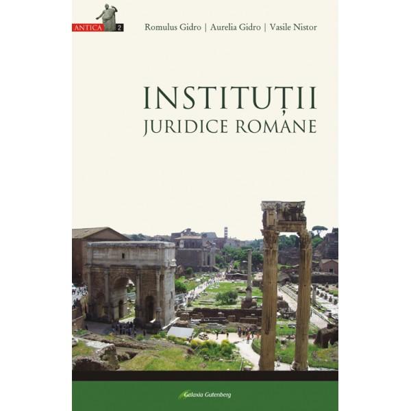 Instituţii juridice romane